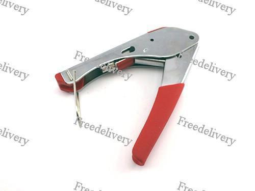 Инструмент опрессовочный для компрессионных F разъемов RG59 RG6 HT-H518A