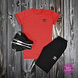 Чоловічий літній костюм Adidas (Адідас) 100% якості, фото 3