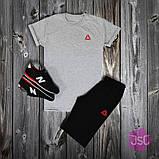 Чоловічий літній костюм Adidas (Адідас) 100% якості, фото 4