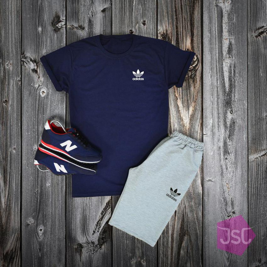 Чоловічий літній костюм Adidas (Адідас) 100% якості