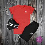 Чоловічий літній костюм Adidas (Адідас) 100% якості, фото 6
