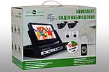 Комплект видео наблюдения GreenVision GV-K-M 7304DP-CM02 LСD, фото 4