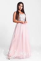 Женское красивое нарядное платье в пол