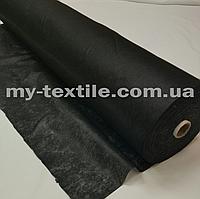 Флизелин клеевой 90 см Черный