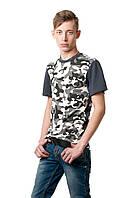 Камуфляжная футболка 7803:  M L XL 2XL