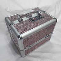 Шкатулка для бижутерии большая металлическая, фото 1