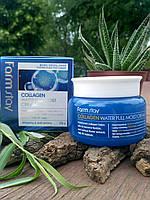 Farm Stay Collagen Water Full Moist Cream 100ml - Увлажняющий крем для лица с коллагеном