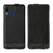 Чехол флип Stenk Premium для Samsung Galaxy M20 Чёрный
