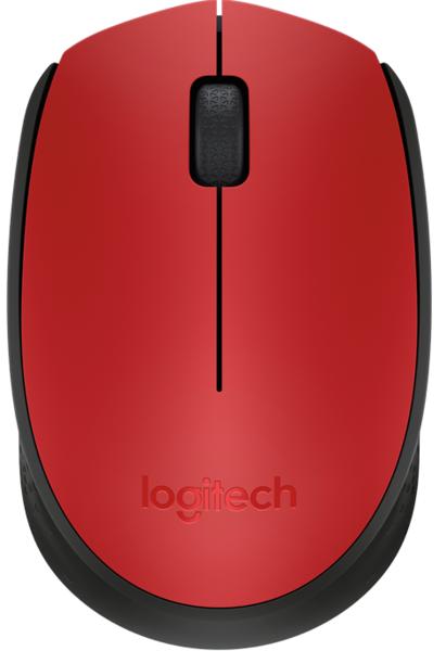 Мышь Logitech Wireless Mouse M171 Red