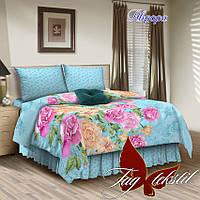 Семейный комплект постельного белья Аврора