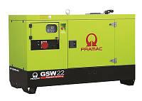 Дизельные генераторы PRAMAC на базе двигателя Yanmar, модель GSW22Y,  22 кВА, 15 кВт