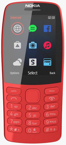 Мобільний телефон Nokia 210 Dual Sim Red