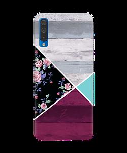 Чехол на Samsung Galaxy A50 с рельефным принтом Pattern