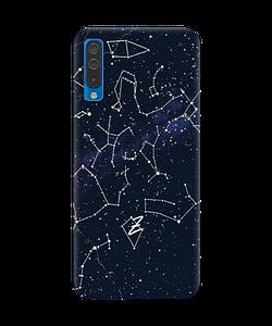 Чехол на Samsung Galaxy A50 с рельефным принтом Stardom