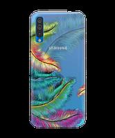 Чехол на Samsung Galaxy A50 с рельефным принтом Fluff