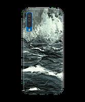 Чехол на Samsung Galaxy A50 с рельефным принтом North