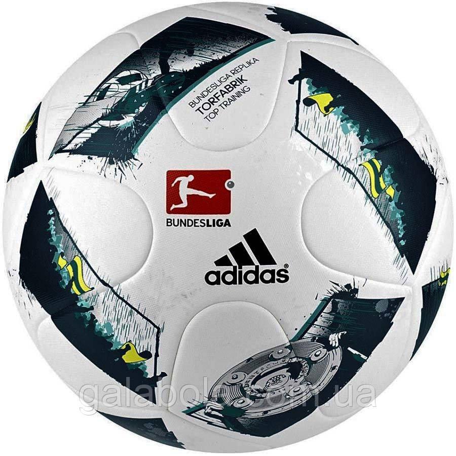 Мяч футбольный Adidas Bundesliga Replika Topfabrik Top Training FIFA AO4834 (размер 5)