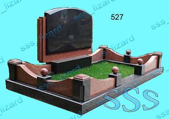 Памятник для двоих из гранита арт.527