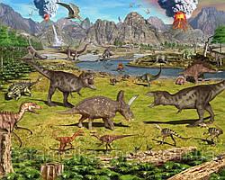 Вафельна картинка Динозаври, для торта