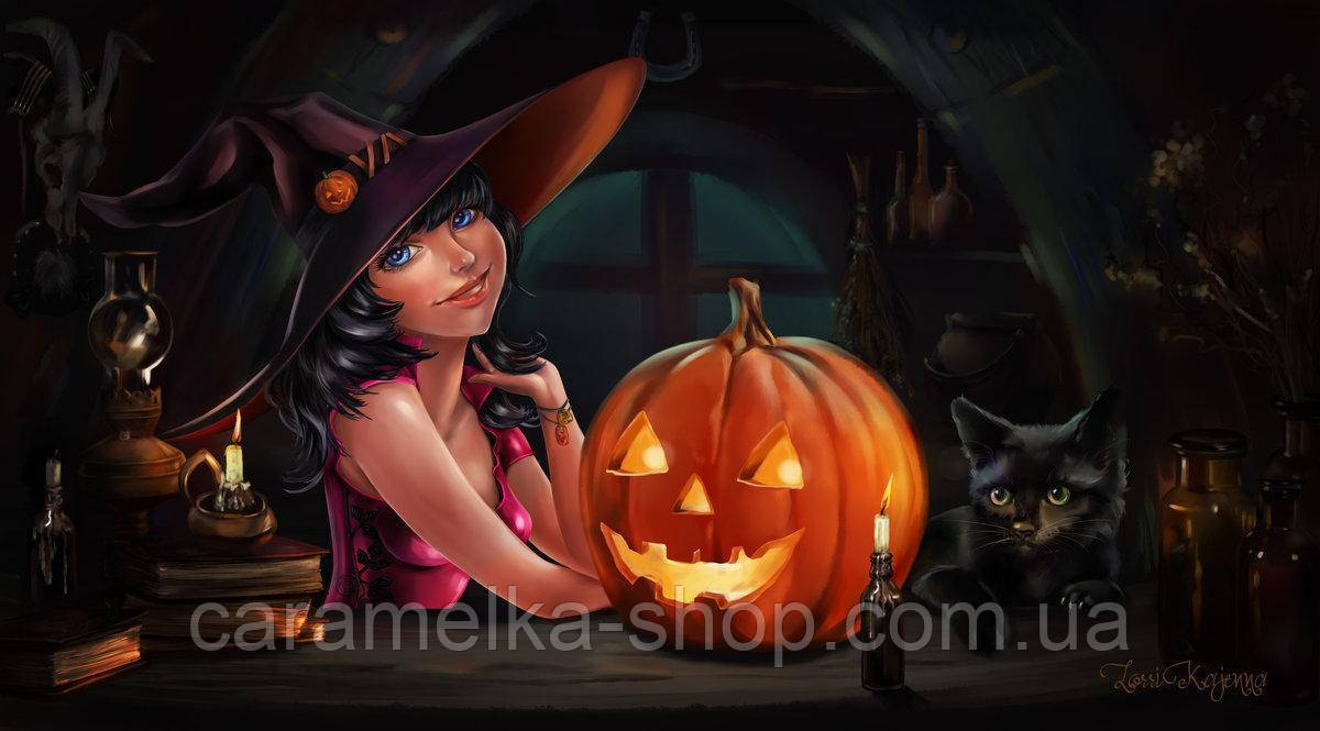 Сахарная картинка halloween, для торта