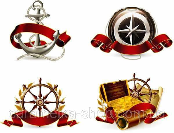 Вафельна картинка морські Пірати, для торта