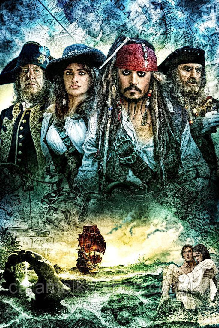 Вафельна картинка Пірати, для торта