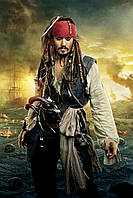 Вафельная картинка Пираты, для торта