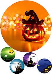 Вафельна картинка halloween, для торта