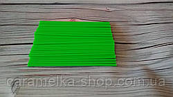 Палочки для Кейк попсов Зеленые(пластик) 15 см