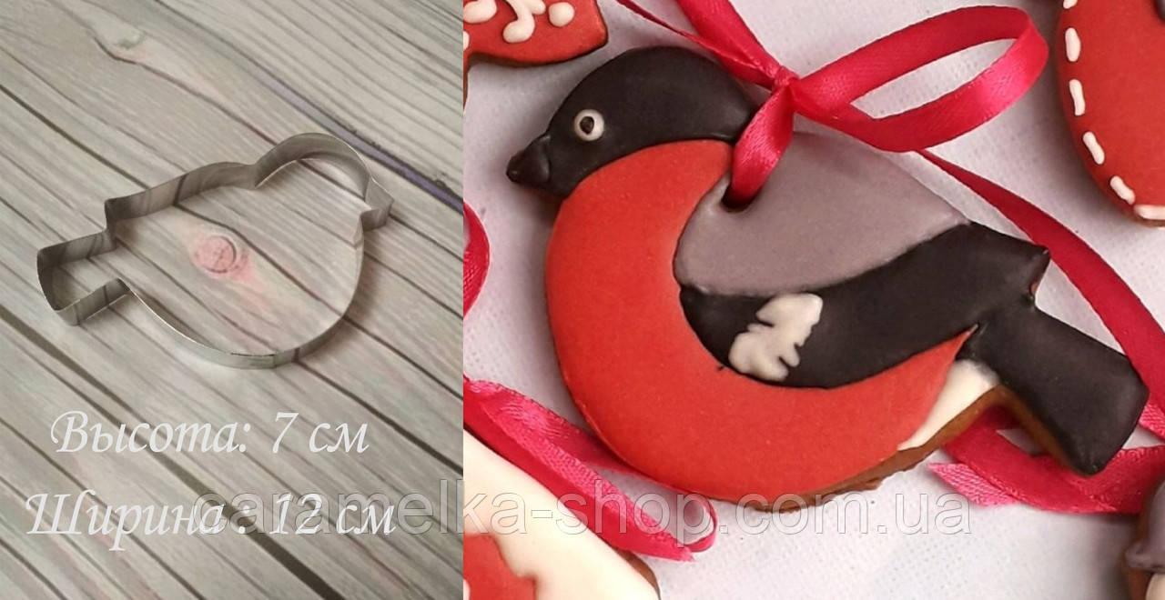 Високоміцна Вирубка для пряників і печива - снігур, Вирубка 2д