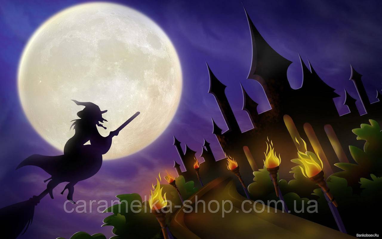 Цукрова картинка halloween, для торта
