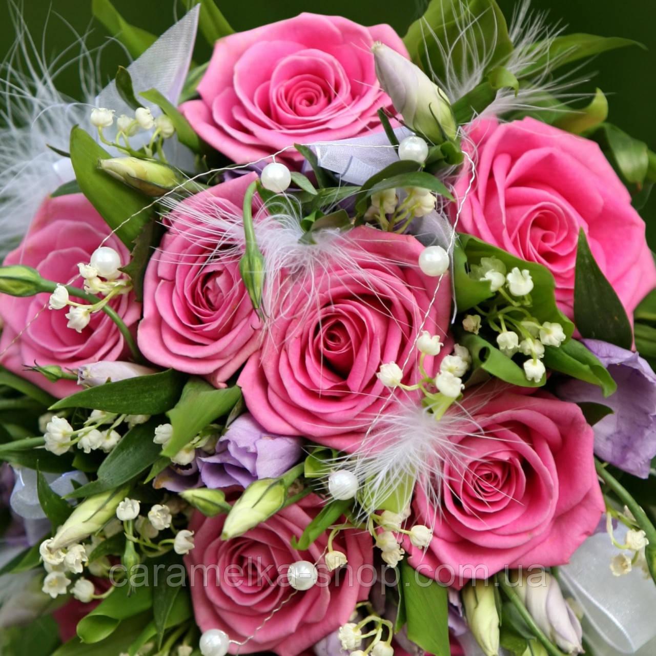 Сахарная картинка цветы, для торта