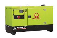 Дизельные генераторы PRAMAC на базе двигателя Yanmar, модель GSW30Y,  32 кВА, 26 кВт
