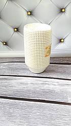 Бумажные формы для кексов Белые, 100шт