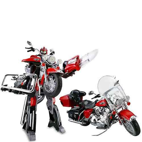 Робот трансформер Harley-Davidson 1:8