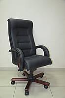 Кресло руководителя РОЯЛ Люкс НВ, Неаполь N-20, подлокотники вишня AMF