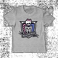 """Футболки для девочек """"Monster high"""", фото 1"""