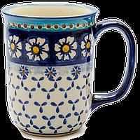 Кружка керамическая Muster 0,4L Chamomile Paradise - Blue, фото 1