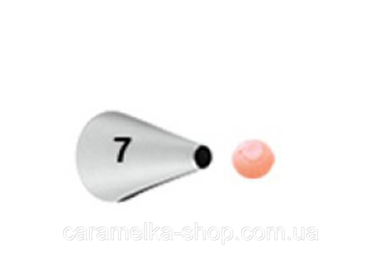 Насадка кондитерская для надписей №7