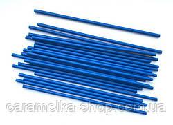 Палочки для Кейк попсов Синие(пластик) 15 см