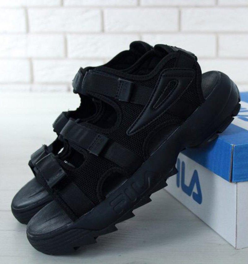 Мужские Сандали FILA Disruptor Sandals черные