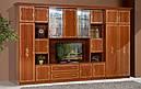 Стінка для вітальні з ДСП/МДФ (гостиная стенка) Версаль 8 (L3716) Світ Меблів