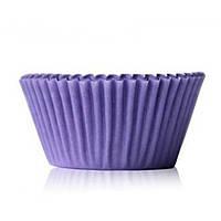 Бумажная форма для кексов, Фиолетовый цвет , 50шт