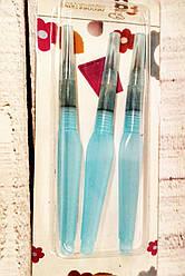Набор заправляемых кондитерских кистей для росписи пряников