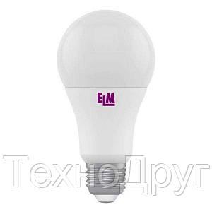 LED лампа ELM 10W E27 4000К