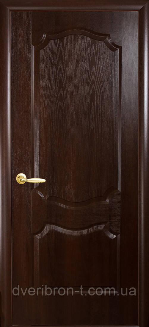 Двери Новый Стиль Вензель каштан, коллекция ФОРТИС De Luxe