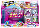 Игровой набор Шопкинс Тележка для супермаркета с продуктами и фигурками Shopkins Small Mart Shopping Cart, фото 3