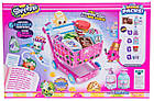 Игровой набор Шопкинс Тележка для супермаркета с продуктами и фигурками Shopkins Small Mart Shopping Cart, фото 4