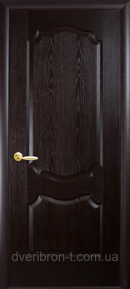 Двери Новый Стиль Вензель венге, коллекция ФОРТИС De Luxe