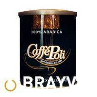 Молотый кофе Caffe Poli ARABICA 100% ж/б 250 г
